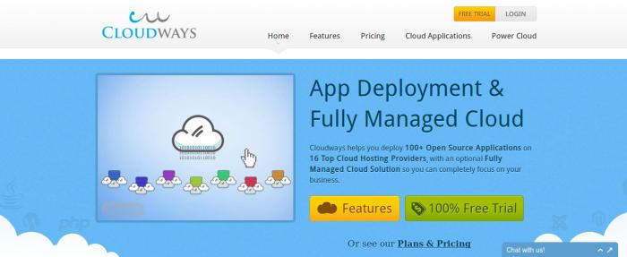 Summer fresh cloud interface example