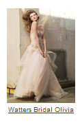 Watters Bridal Olivia wedding gown