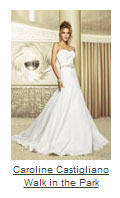 Caroline Castigliano walk-in-the-park wedding dress